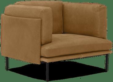 ryker leather chair toledo camel