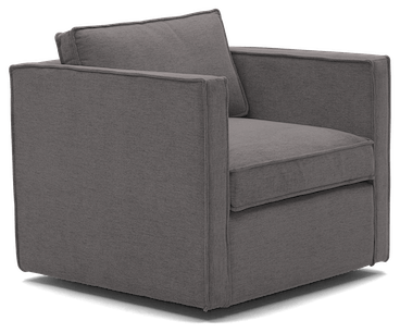 dune swivel chair taylor felt grey