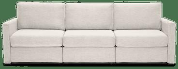 notch modular sofa %283 piece%29 merit dove