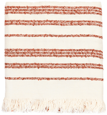RST boucle stripe throw rust