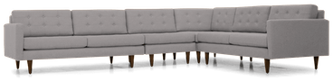 eliot sectional %284 piece%29 taylor felt grey