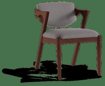 morgan dining chair taylor felt grey
