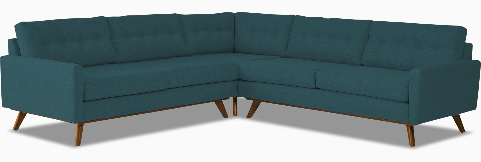 hopson corner sectional %283 piece%29 lucky turquoise