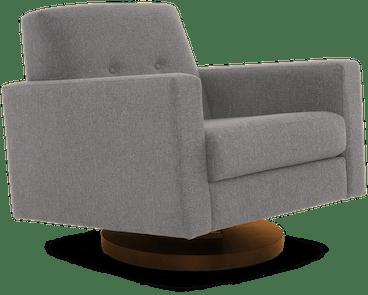 korver swivel chair taylor felt grey