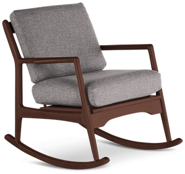 collins rocking chair taylor felt grey