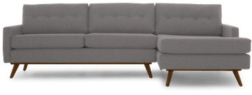 hopson sectional taylor felt grey