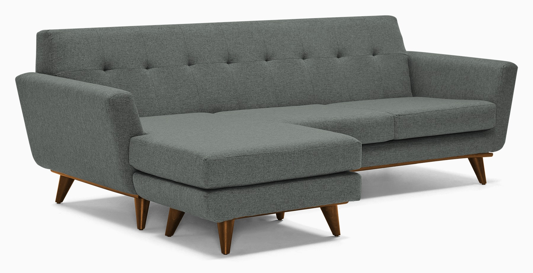 hughes reversible sectional essence ash