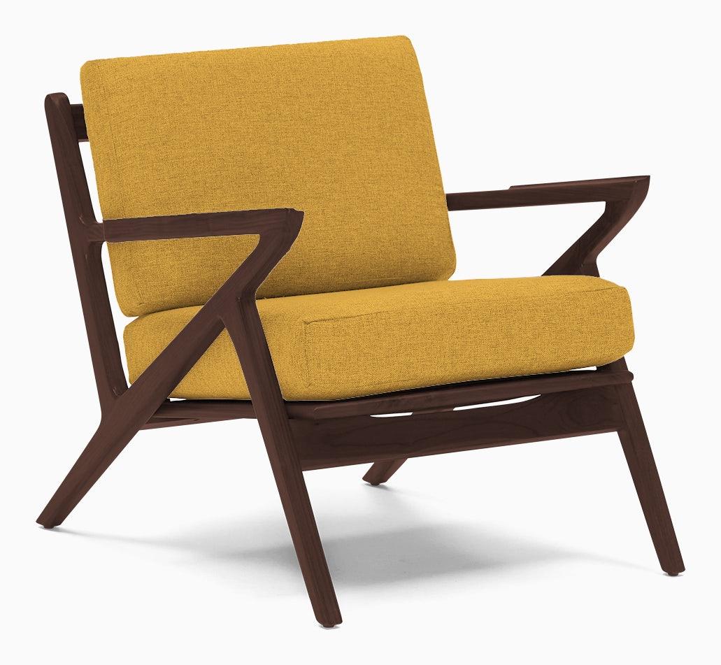 soto concave arm chair bentley daisey