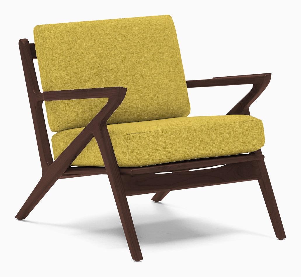 soto concave arm chair taylor golden