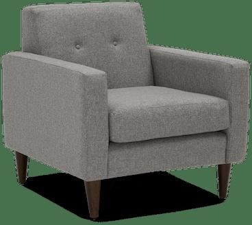 korver apartment chair taylor felt grey