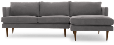 preston sectional taylor felt grey