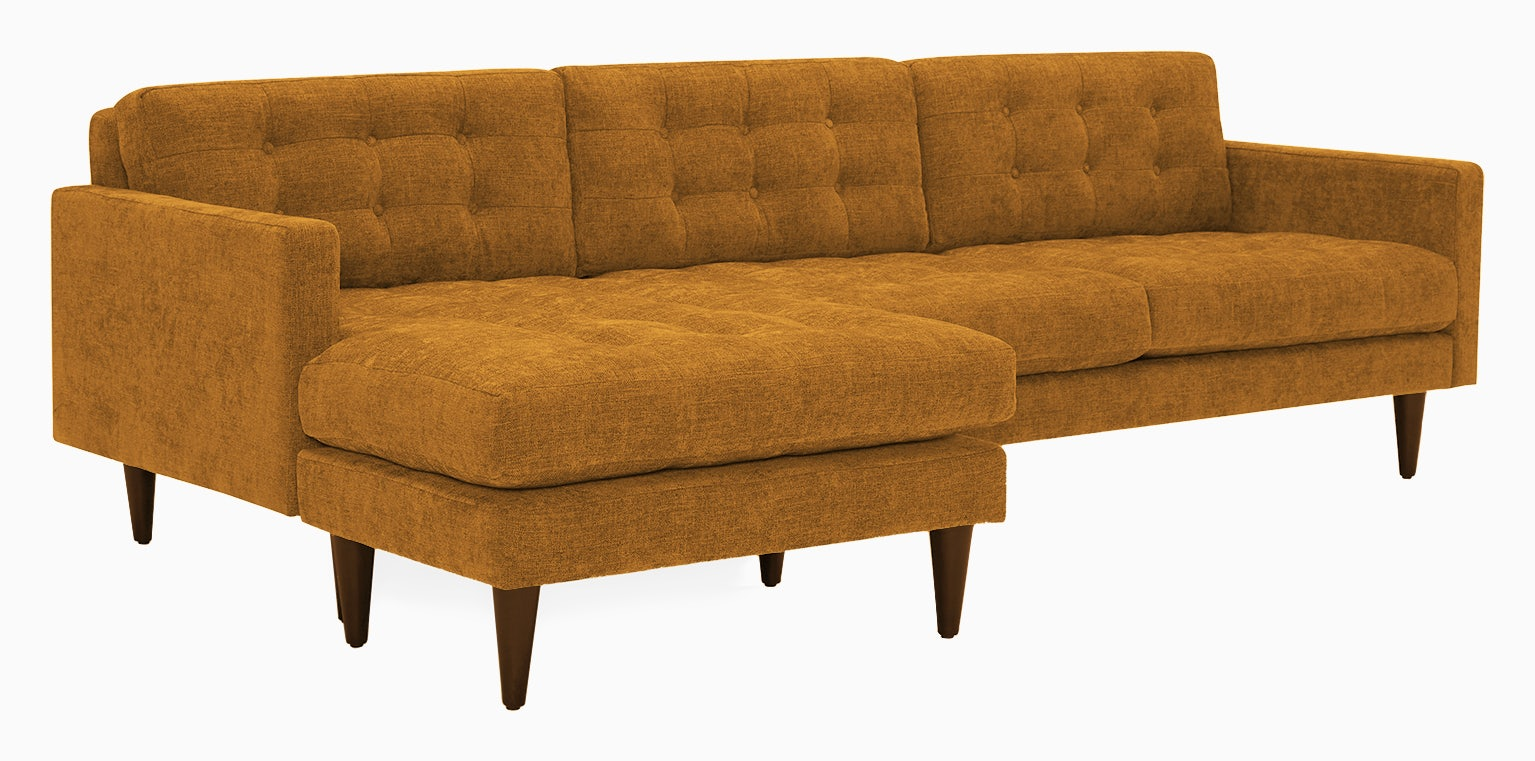 eliot reversible sectional cordova amber