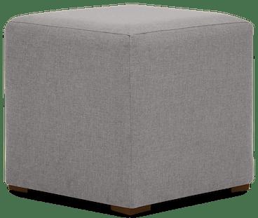cort cube ottoman taylor felt grey