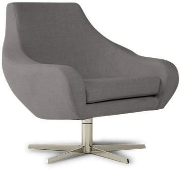lenette swivel chair taylor felt grey