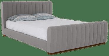 camille bed taylor felt grey