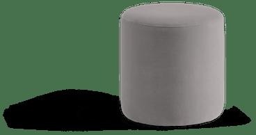 kavi ottoman taylor felt grey