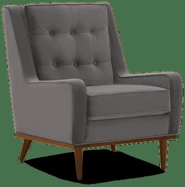 brice chair taylor felt grey