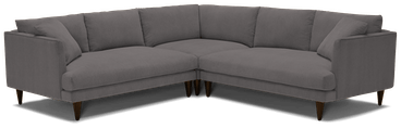 lewis corner sectional %283 piece%29 taylor felt grey