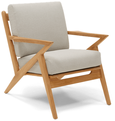 STNGRY soto outdoor chair stone grey