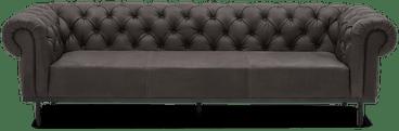 bree leather sofa toledo graphite