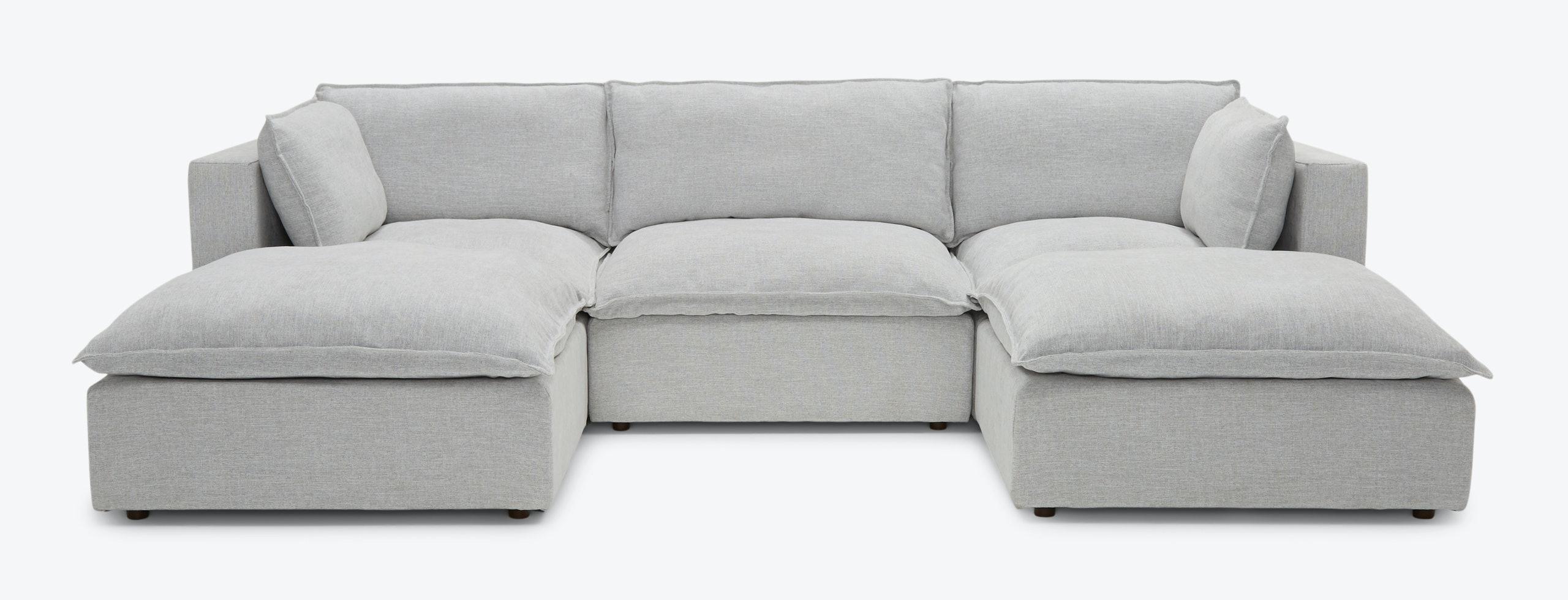 Haine Modular Chaise Sectional Milo Dove
