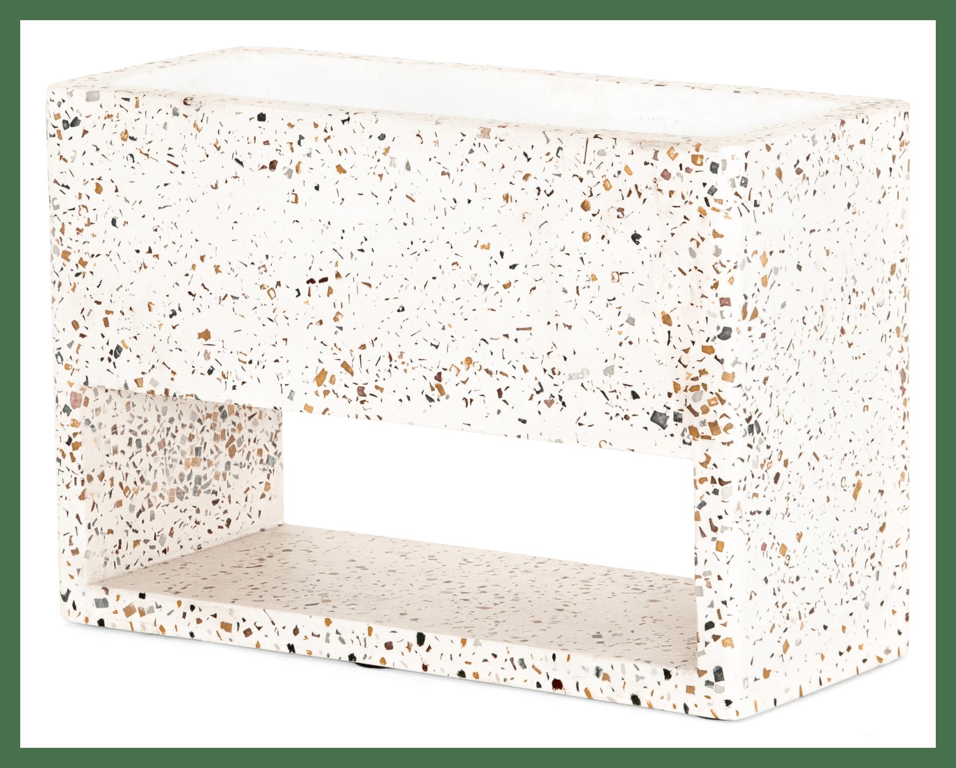 SHRT roma terrazzo planter