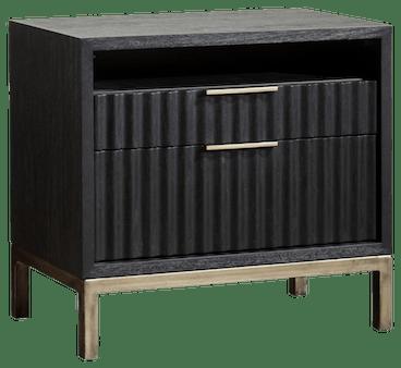black eliza nightstand