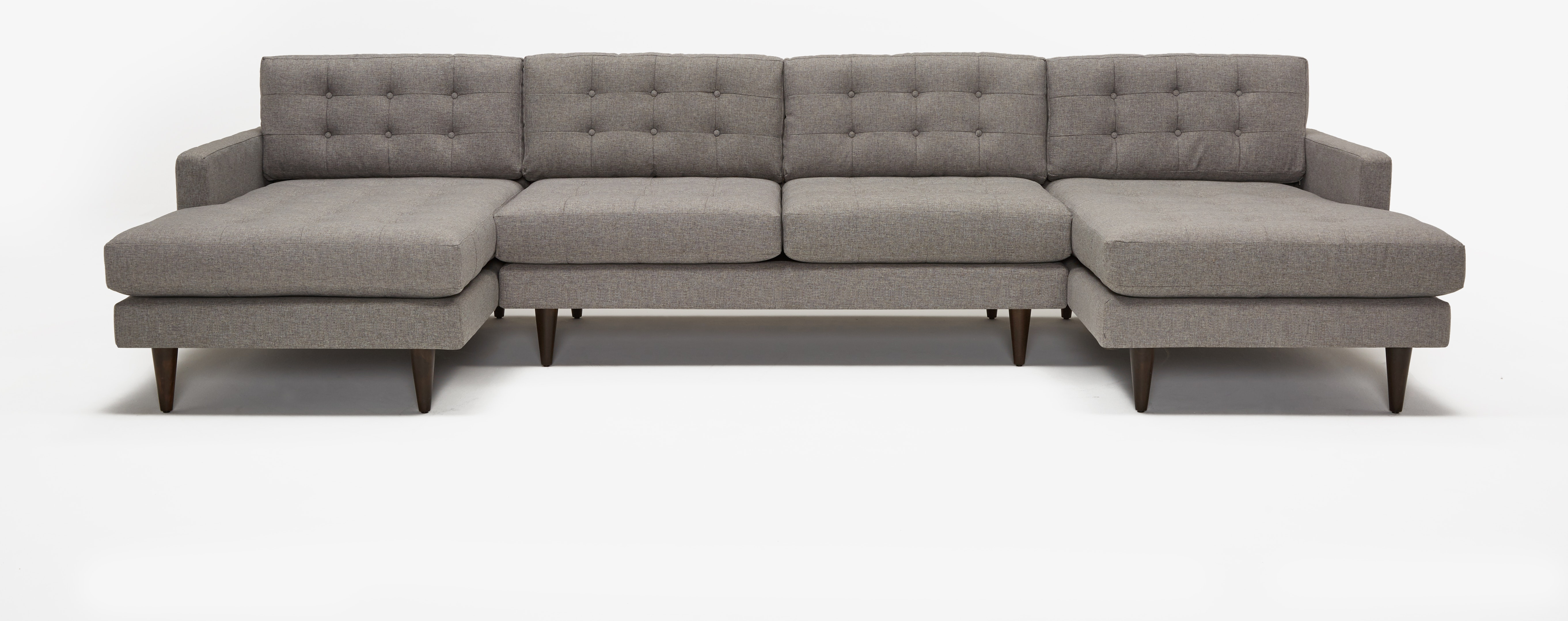 Eliot Chaise Sectional Taylor Felt Grey
