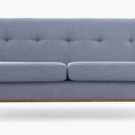 hero hughes armless loveseat