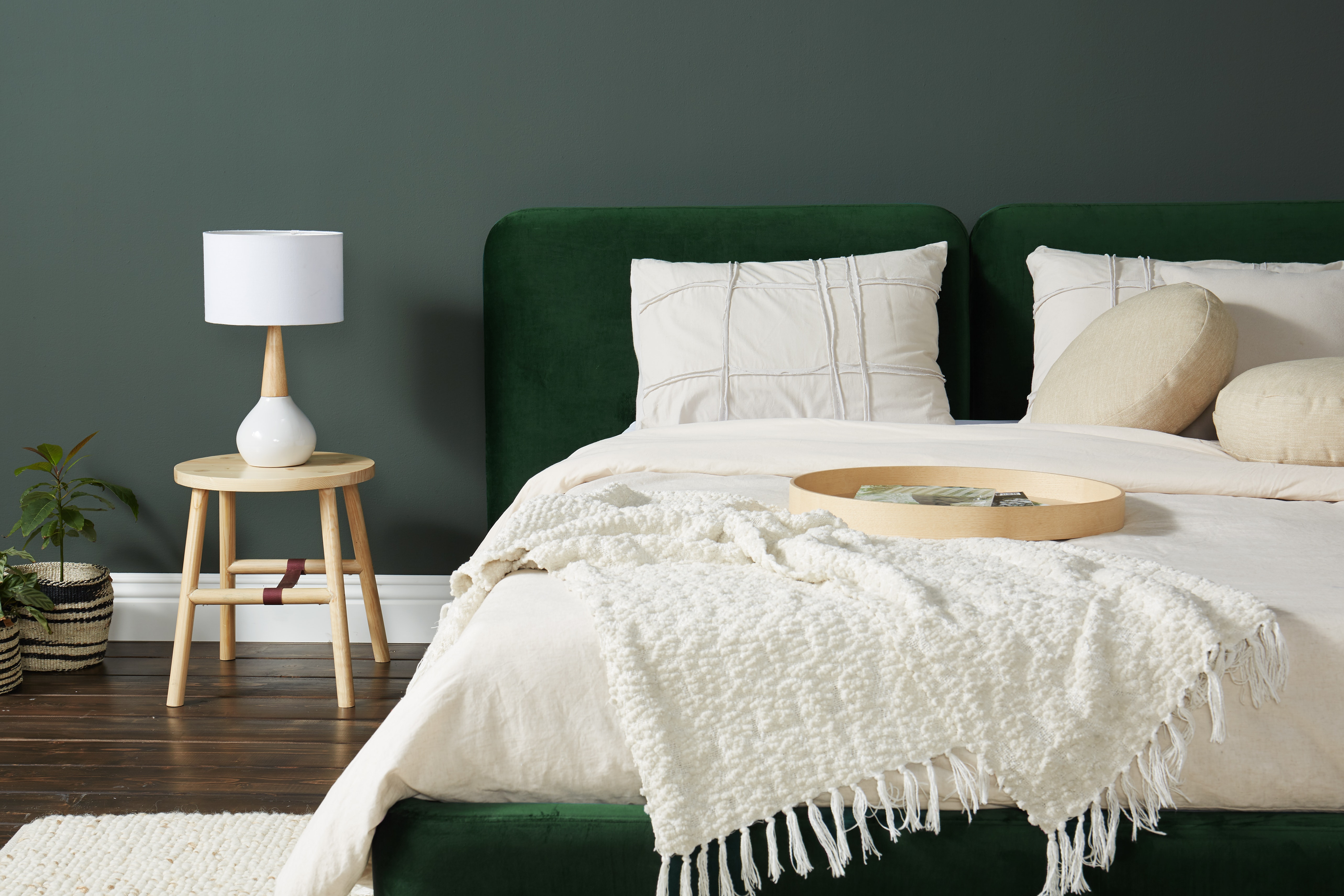 Bryce Bed Royale Evergreen