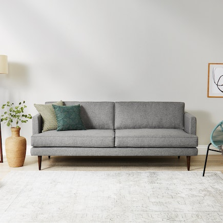 Preston Sofa Taylor Felt Grey