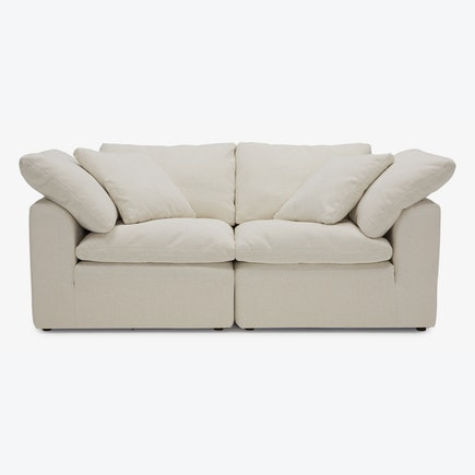 Bryant Loveseat Tussah Snow