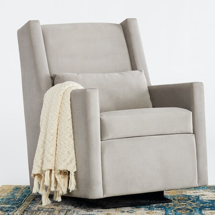 Nina glider chair bella dove mocha lastudio hero